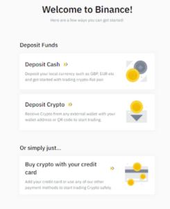 binance deposit options ccc