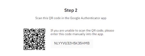 binance google authentification